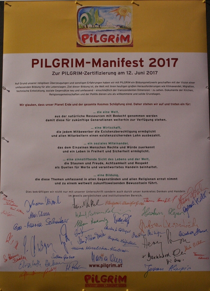 PILGRIM Zertifizierung 2017